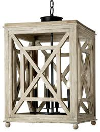 cedros coastal beach weathered white wood lantern pendant
