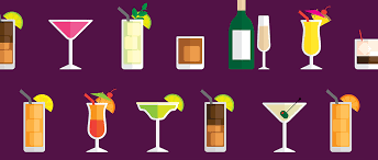 Cocktails Calories Chart How Many Calories Are In Your Cocktail Infographic