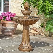 solar powered queensbury water fountain
