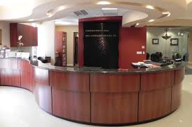 office cabinets design. Reception Desk/ Counter NK Cabinets Los Angeles Office Design