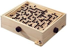 Wooden Maze Game With Ball Bearing Brio Labyrinth eBay 46