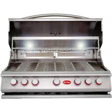 Unique Kitchenaid 5 Burner Gas Grill Builtin Stainless Steel Propane With On Decor