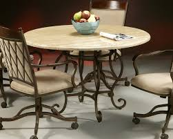Round Granite Kitchen Table Rustic Metal Table Base Industrial Dining Table Legs Steel And