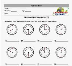 Worksheet #604780: Telling Time Math Worksheets – 1st Grade ...