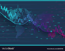 Stock Market Or Forex Trading Graph Chart Suitable