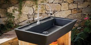 Contemporary Red Stone Kitchen Sink Granite And Granite Sink