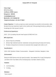 Sample Resume For Abroad Job Sample Template Sample Resume Career