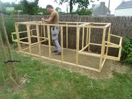 constructionun poulailler en palettes modulable plan avec fait maison la construction du nouveau poulailler notre pe