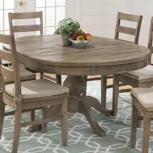 Pine Kitchen Tables For Jofran Reclaimed Pine Round To Oval Dining Table Beyond Stores