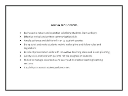Preschool Teacher Assistant Resume teacher assistant resume skills misanmartindelosandes 51