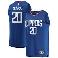 Landry Shamet LA Clippers Fanatics ...