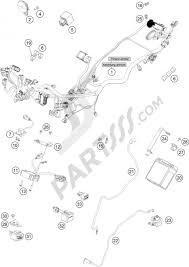 Wiring harness ktm 200 duke wh w o abs b d 2014 eu