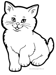animal color pictures. Wonderful Color Cat Color Page Animal Coloring Pages Plate  Sheetprintable Picture In Animal Color Pictures