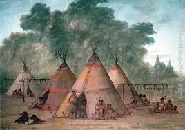 george catlin sioux village