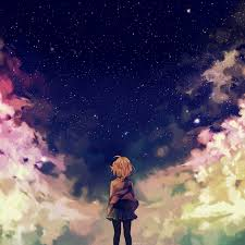 Find the best anime wallpaper on wallpapertag. Ad65 Starry Space Illust Anime Girl Wallpaper
