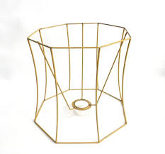 Lampshade Frame Wire Frame Authentic Vintage Lampshade Wire Frame