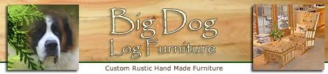 big dog log furniture custom rustic hand made furniture big dog furniture
