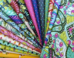 Tula Pink Fabric Slow & Steady Full Yard Bundle • Stitches Quilting & slow-steady-one-yard-fabric-bundles Adamdwight.com