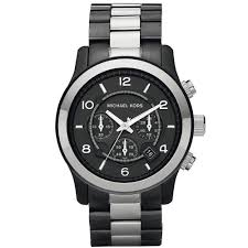 michael kors mk 8182 runway chronograph watch gunmetal two tone does not apply
