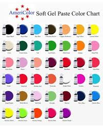 Candy Melt Color Chart Americolor Gel Color Mixing Chart Www Bedowntowndaytona Com