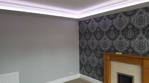 how to install led strip lights on coving and cornices