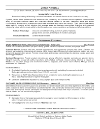 Confortable Outside Sales Resume Tips With Resume Cover Letter