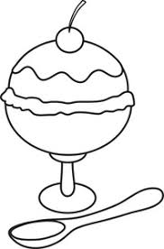 ice cream clipart black and white.  Clipart Ice Cream Clip Art In Clipart Black And White K
