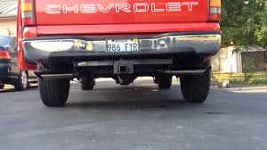 Silverado 99 chevy silverado exhaust : 99 Silverado 4.3L Flowmaster Super 44 Series - YouTube