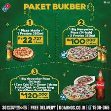 buber package from domino s pizza april