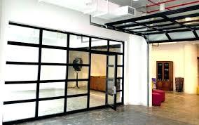 overhead door sizes of large size garage repair chandler doors glass see through