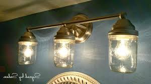 mason jar lights diy into fairy rustic pallet light fixture wall