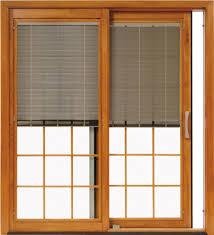 Door Design : Wooden Pella Doors On Tan Wall Matched With Floor ...