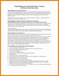 Coding Specialist Sample Resume Medical Biller Sample Resume Billing And Coding Specialist Vendor 23
