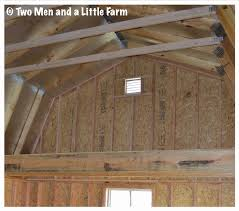Loft Storage Two Men And A Little Farm Barn Loft Storage Container Ideas