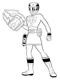 power ranger coloring pages rangers megaforce free printable
