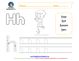 This helpful phonics worksheets bundle includes. Jolly Phonics Worksheet H The Kids Worksheets