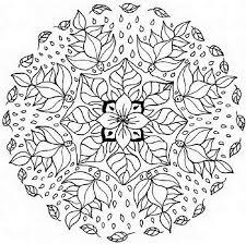 Disegni Astratti E Mandala Da Colorare Arte Terapia Per Scaricare