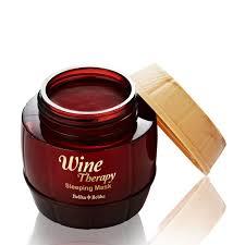 Holika <b>Holika Wine Therapy Sleeping</b> Mask - Red Wine 120ml ...