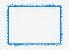 Frame For Word Basketball Border For Microsoft Word Blue Border Frame Png
