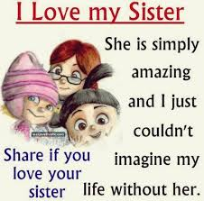 Sister Love Quotes Inspiration I Love My Sister Quote Pictures Photos And Images For Facebook