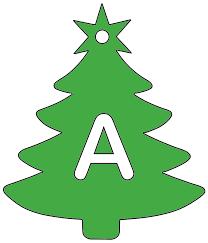 Christmas Tree Stencil Printable Christmas Tree Stencils Printable Alphabet Patterns And