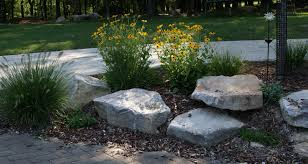 Landscaping Boulders Rocks Our House X Love In The Garden