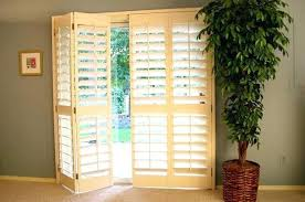 bypass plantation shutters for sliding glass doors
