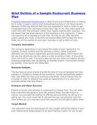 Restaurant Design Brief Example Nursing Home Business Plan Pdf Plans Design How To Write