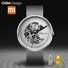 Ciga Design My Mechanical Watch For Xiaomi Ciga Design My Series Automatic Mechanical Watch Business Men Wrist Watch Self Wind Wristwatches Waterproof Clock