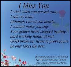 Quotes About Lost Loved Ones In Heaven