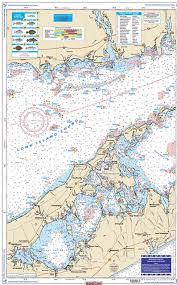 Eastern Long Island Sound Coastal Fishing Nautical Chart