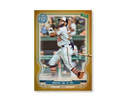 Dwight Smith Jr. 2020 Gypsy Queen Base Card Poster Gold Ed. # to 1