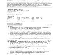 Example Military Resume Best Of Military Pilot R As Sample Resume Templates Pilot Resume Template