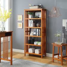 mission style bookcase. Brilliant Mission Urban Style Living Mission 5 Shelf Bookcase On M